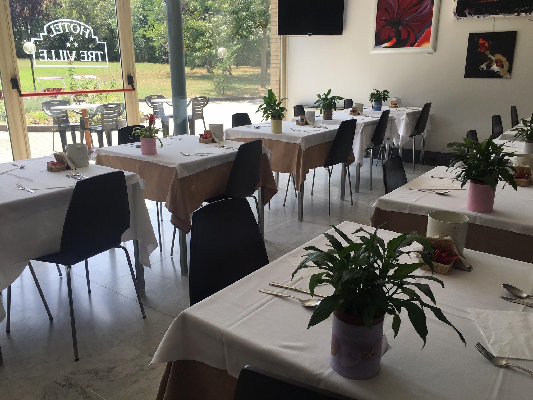 Hotel Tre Ville - Sala colazioni